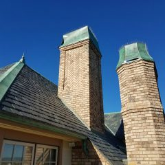 Copper Chimney and Copper Work